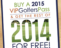 VIPGolfersPass Promotion Flyer & Social Media Post