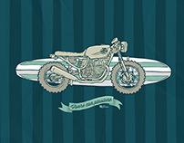 39grados Surf Moto Poster