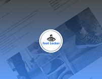 FootLocker Re-Designed | Wesite