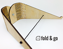 Fold & Go Laptop Stand