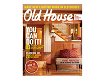 Old House Journal November/December Issue