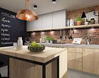 kitchen interior design ~