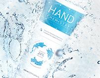Hand Chemistry branding
