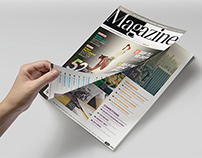 Magazine Template - InDesign 52 Page Layout V4