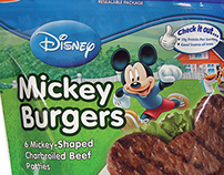 Disney Mickey Burgers Packaging