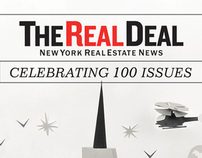 The Real Deal 100th Issue Cover