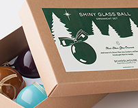 Schoolhouse Electric holiday packaging