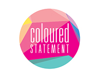 Coloured Statement Logo Design