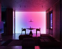 """Ts"" apartment. Living room"