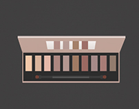 Free tutorial Makeup Palette