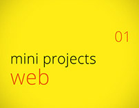 Mini Projects - Web (01)