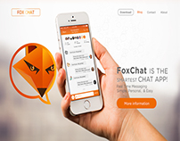 FoxChat ios App Website