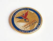 Foursquare Chaplains Coin
