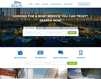 Website design (+ mobile) for everythingboats.com.au