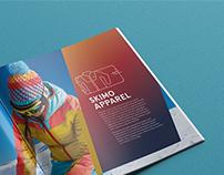 La Sportiva catalogue design & infographics