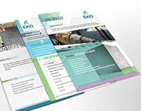 Eko Köpük Beton Brochure & Business Card Design
