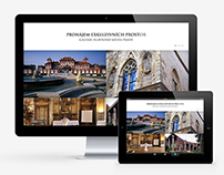 Web Design | Prague City Gallery