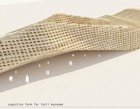fabricated architecture model
