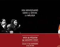 Programa para Concierto Coro de Ópera de Málaga