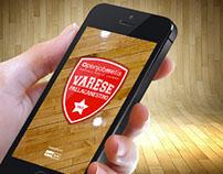 Openjobmetis Varese - App design