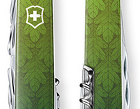 Illustrated Swiss Army Knives