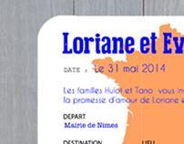 Mariage - Loriane & Evrard