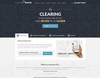 Clutter Buster Responsive Web Design