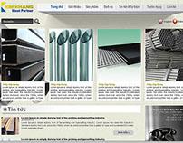 Kim Khang Steel - Website