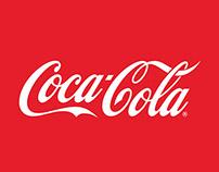 Comparte una Coca-Cola en el aire