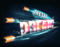 Metal Dream - Logo & Website