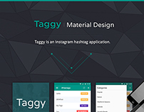 Taggy Material Design (Android L)