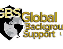 Global Background Support Logo Design