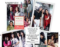 Vogue Wedding Show x Vogue India November Issue