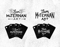 Sam McTernan Art - Logo