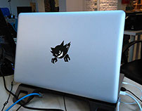 Haunter Sticker