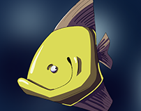 Fish Character Design
