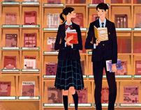 Cover Illustration of School guidanceBooklet