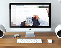 Datasense Website Design