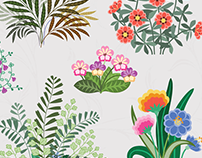 Vector Brushes - Floral for Creative Market