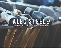 Alec Steele Blacksmith, Website Design Idea