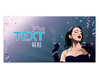 Party with Eventbrite&99designs - Template illustration