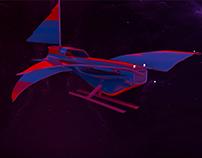My space ship in Maya