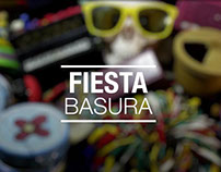 Fiesta basura (stop motion)