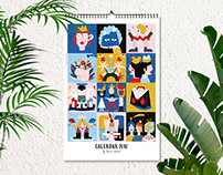 Calendar / 2018
