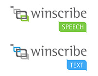 Winscribe Product Logo Design