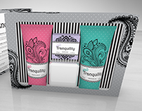 Tranquility Toiletries Packaging