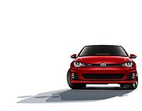 2015 Volkswagen GTI and Golf