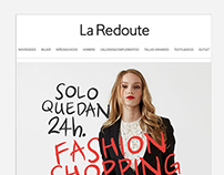 Front-end Newsletters La Redoute
