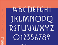 MOMUMENTALE typeface