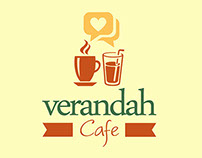 Verandah Cafe - Concept, Branding and Design